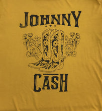 Load image into Gallery viewer, Daydreamer Johnny Cash Boots Tee