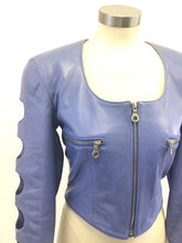 Load image into Gallery viewer, Vintage North Beach Leather Jacket