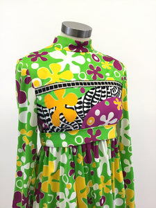 Vintage 60's Mod Mini Dress