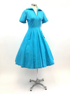 Vintage 50's Full Skirted Dress