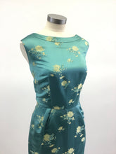 Load image into Gallery viewer, Vintage 60's Silk Brocade Midi Dress