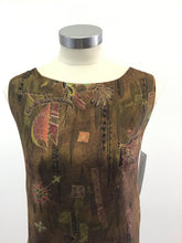 Load image into Gallery viewer, Vintage 60's Hawaiian Shift Dress