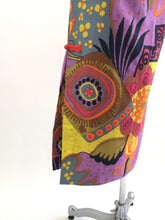 Load image into Gallery viewer, Vintage 60's Hawaiian Print Dress