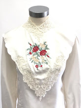 Load image into Gallery viewer, Vintage 80's Silk Blouse