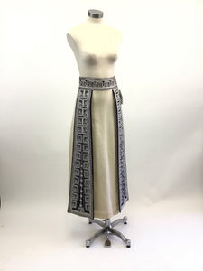 Vintage Embroidered Maxi Skirt
