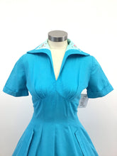 Load image into Gallery viewer, Vintage 50's Full Skirted Dress
