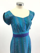 Load image into Gallery viewer, Vintage 50's Hawaiian Maxi Dress