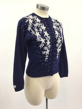 Load image into Gallery viewer, Vintage 50's Beaded Sweater