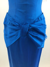 Load image into Gallery viewer, Vintage 60's Satin Wiggle Dress