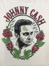Load image into Gallery viewer, Daydreamer Johnny Cash Rose Tee