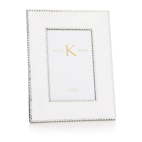 Mirrored Rhinestone Photo Frame (4x6)
