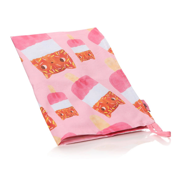 Planet Cat Book & Tea Towel Giftset