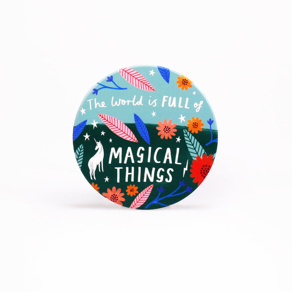 Bonbi Forest Set of 4 Coasters – Quotes