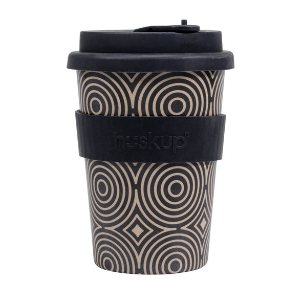 Art Deco Circles Huskup Travel Mug