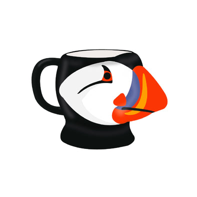 RSPB Puffin Shaped Mug - Birds