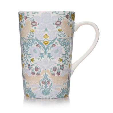 William Morris Latte Mug - Strawberry Thief