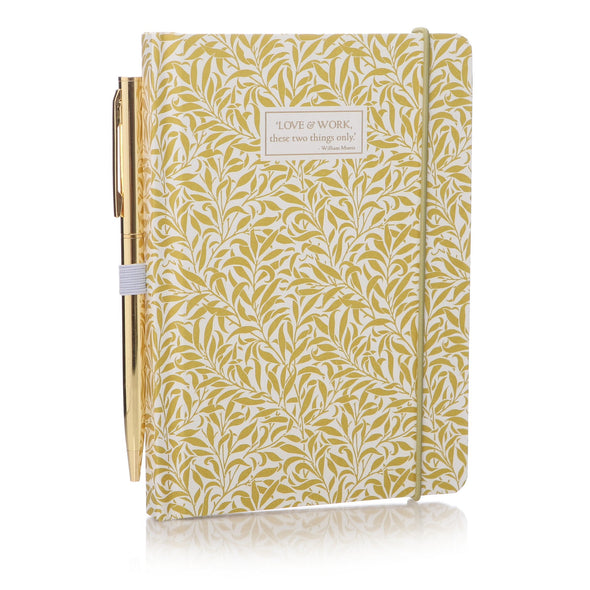 William Morris A6 Notebook - Willow
