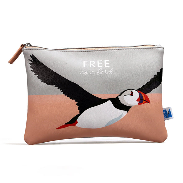 RSPB Puffin Pouch - Birds