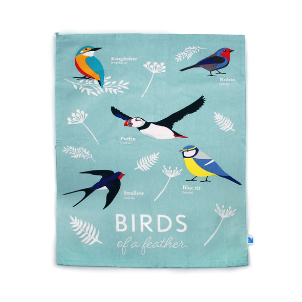 RSPB Tea Towel - Birds