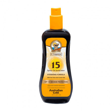 Australian Gold SPF15 Spray Oil Sunscreen 237 ml