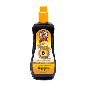 Australian Gold SPF6 Spray Oil Sunscreen 237 ml