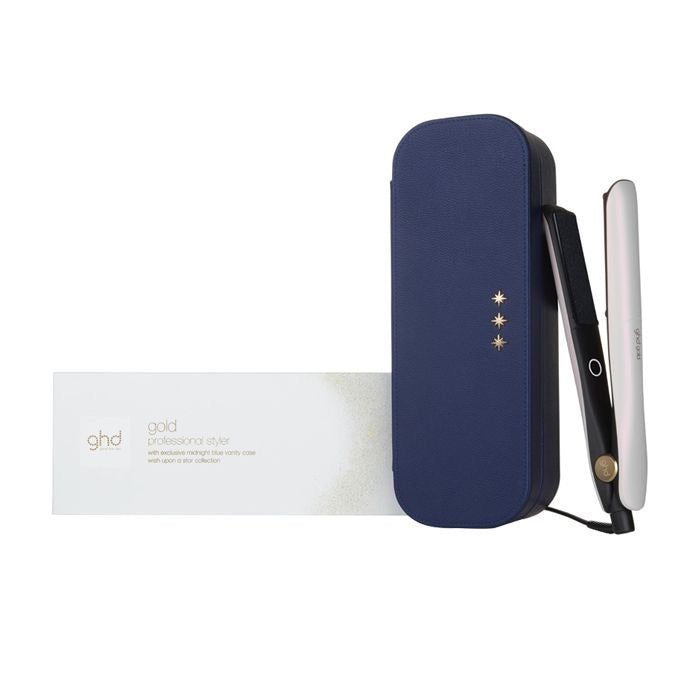 Ghd Gold Styler Iridescent White Gift Set Wish Upon A Star Collection PIASTRA EDIZIONE LIMITATA CON POCHETTE