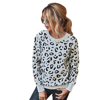Leopard Printed Long Sleeve