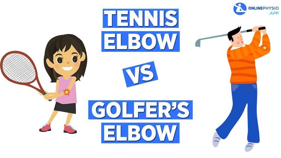 What is the difference between Tennis Elbow and Golfer's Elbow?