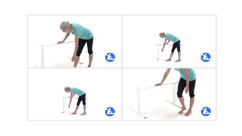 Pendulum exercise for shoulder impingement