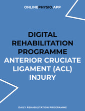 Load image into Gallery viewer, Anterior Cruciate Ligament (ACL) Injury Rehabilitation Programme-OnlinePhysio.app