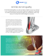Load image into Gallery viewer, Achilles Tendinopathy Rehabilitation Programme-OnlinePhysio.app