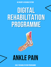 Load image into Gallery viewer, Ankle Pain Rehabilitation Programme