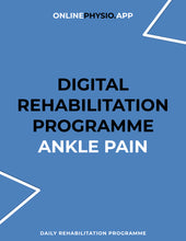 Load image into Gallery viewer, Ankle Pain Rehabilitation Programme-OnlinePhysio.app
