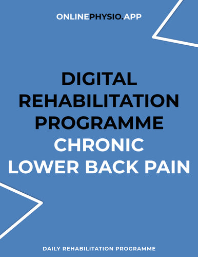 Chronic Lower Back Pain Rehabilitation Programme-OnlinePhysio.app