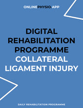 Load image into Gallery viewer, Collateral Knee Ligament Injury Rehabilitation Programme-OnlinePhysio.app