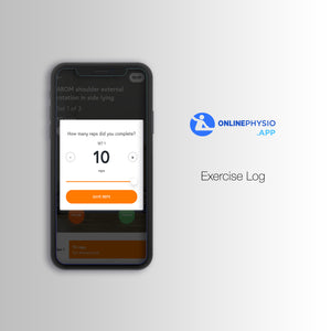 Mobile App Access - Video Tutorials & Exercise Log (One Off Fee)-OnlinePhysio.app