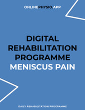 Load image into Gallery viewer, Meniscus Pain Rehabilitation Programme-OnlinePhysio.app