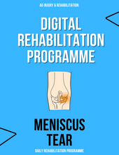 Load image into Gallery viewer, Meniscus Pain Rehabilitation Programme