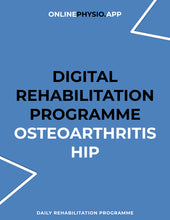 Load image into Gallery viewer, Osteoarthritis (Hip) Rehabilitation Programme-OnlinePhysio.app