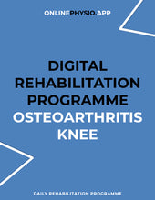Load image into Gallery viewer, Osteoarthritis (Knee) Rehabilitation Programme-OnlinePhysio.app