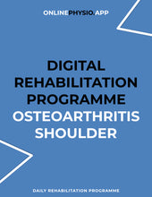 Load image into Gallery viewer, Osteoarthritis (Shoulder) Rehabilitation Programme-OnlinePhysio.app