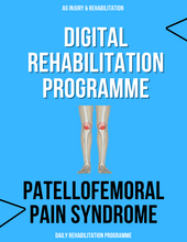 Load image into Gallery viewer, Patellofemoral Pain Syndrome Rehabilitation Programme