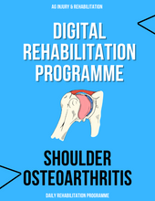 Load image into Gallery viewer, Osteoarthritis (Shoulder) Rehabilitation Programme