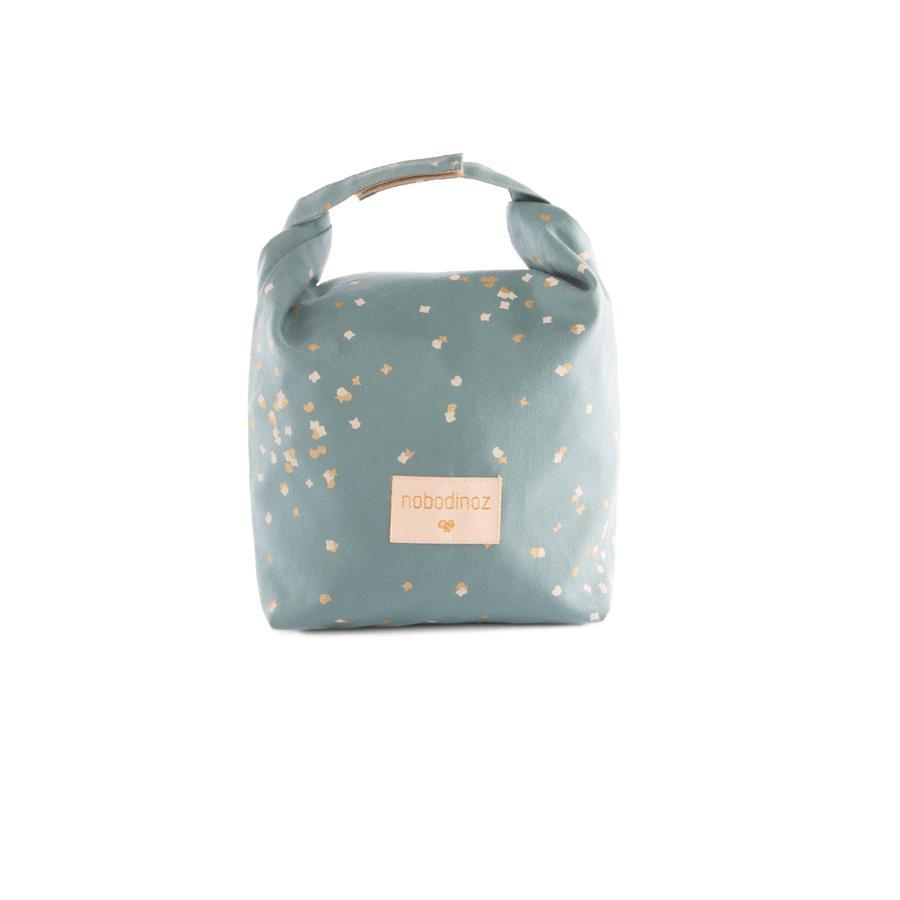 "Lunch Bag ""Eco Gold Confetti / Magic Green"""