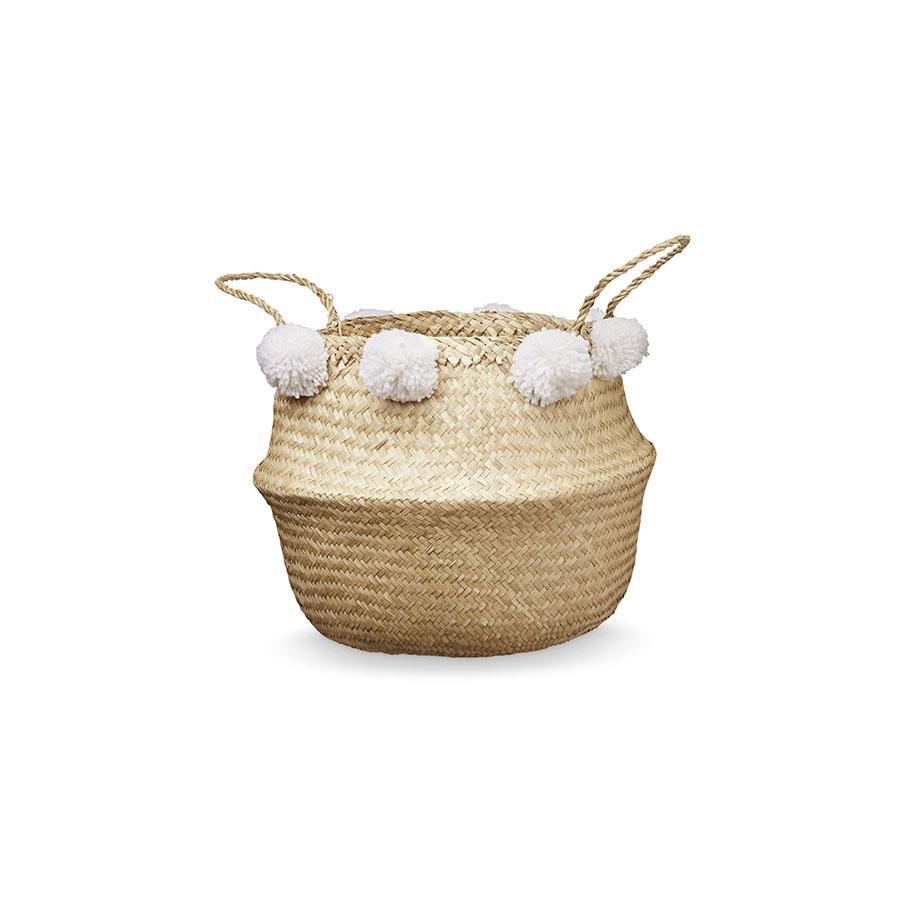 "Korb ""Belly Basket White"""