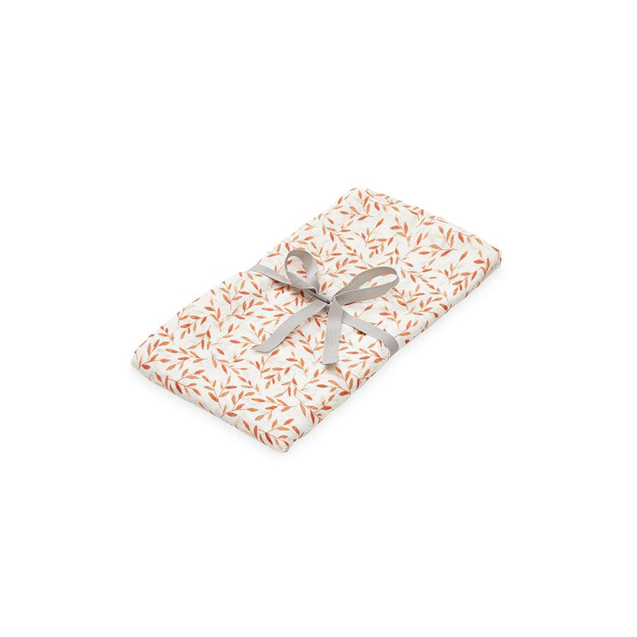 "Mulltuch ""Swaddle Light Caramel Leaves"""
