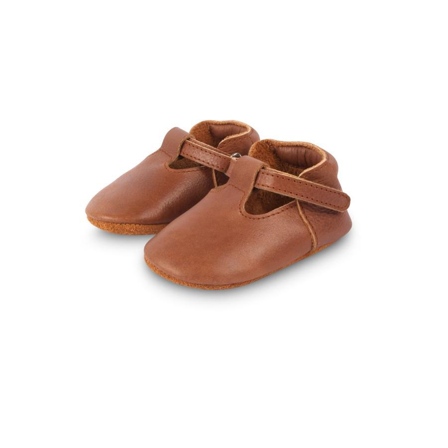 "Babyschuhe ""Elia Cognac Classisc Leather"""