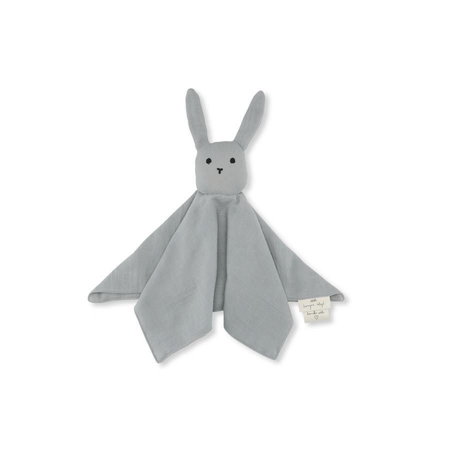 "Schmusetuch ""Sleepy Rabbit French Blue"""