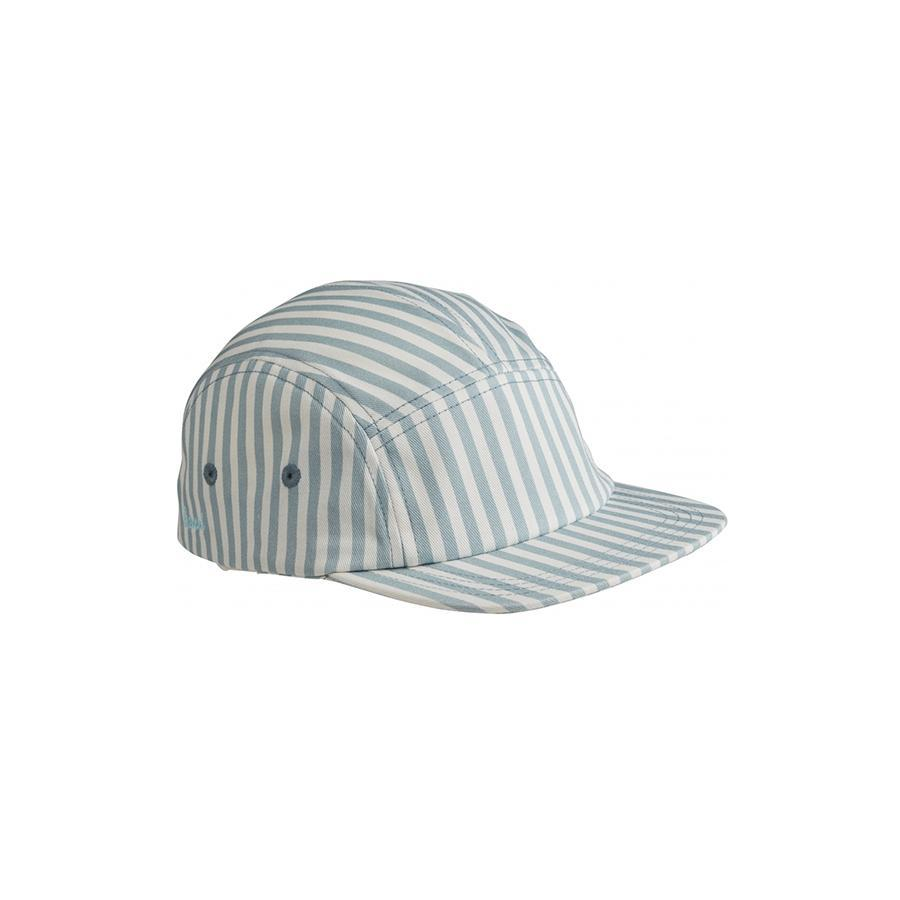 "Sonnenkappe ""Rory Stripe Sea Blue / White"""