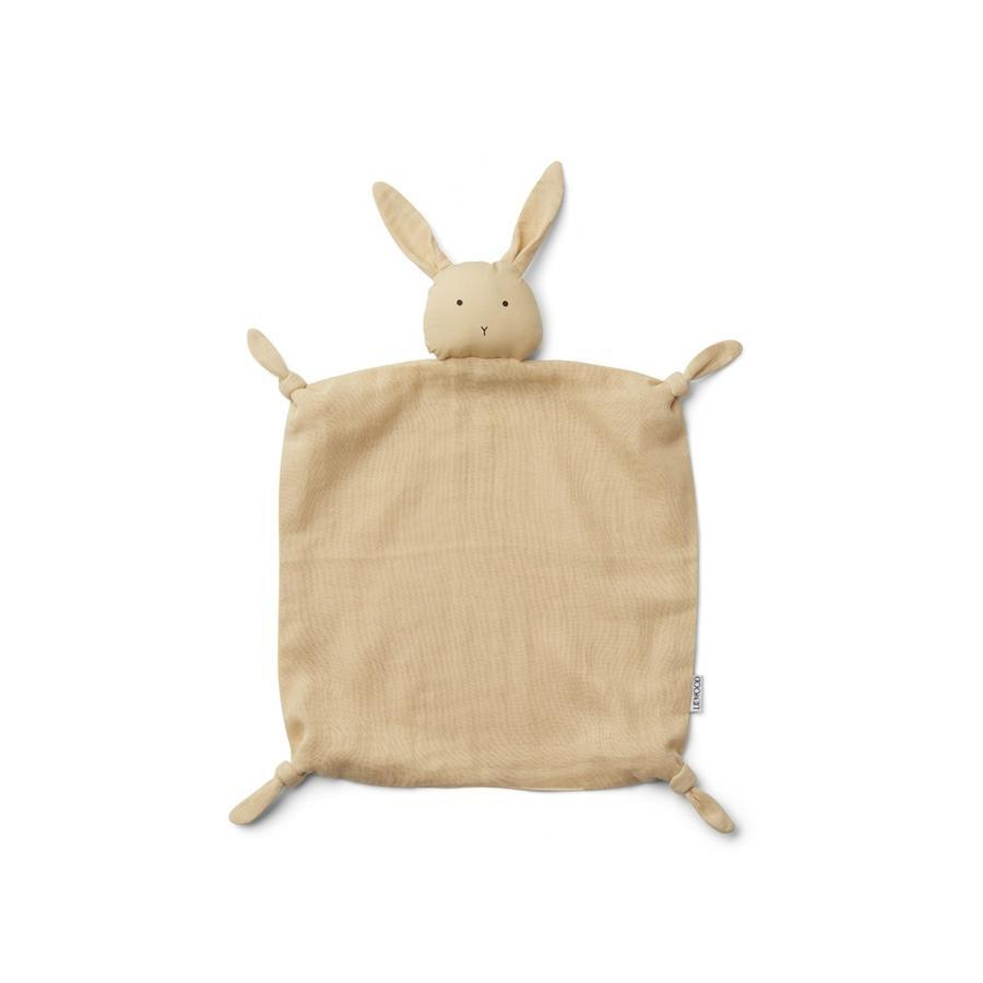 "Schmusetuch ""Agnete Rabbit Smoothie Yellow"""